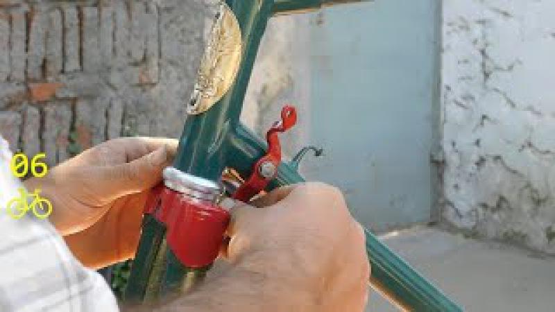 Frenos de varilla armado y ajuste