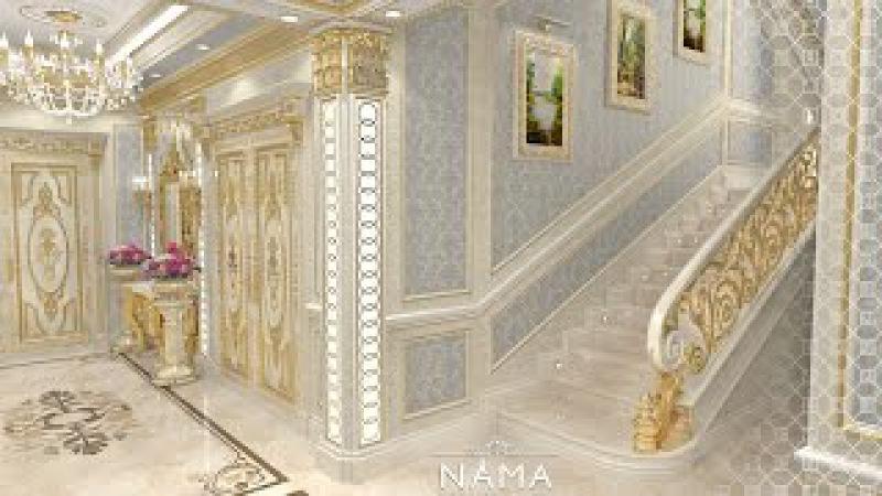 LUXURY HALLWAY DESIGN by NAMA interior design company. Hallway ideas. House interior design