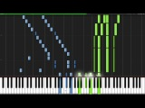 Ode to Joy (Symphony No. 9 4th Movement) - Ludwig van Beethoven Piano Tutorial (Synthesia)