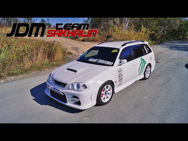 JDM Team 65 - Обзор Toyota Caldina 215 GTT (DUCKS-GARDEN)