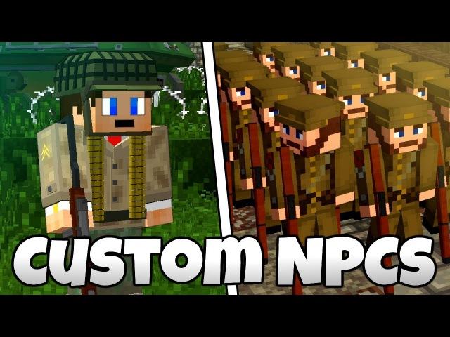 Minecraft | Custom NPCs Tutorial - Custom Weapons, Armor, Skins and More!