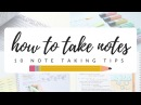 How to take efficient and neat notes 10 note taking tips studytee