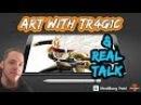 Art with TR4G1C and AMA SSJ3 Bardock Panel 15 Update