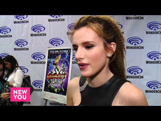 Bella Thorne on Her New Movie Ratchet Clank