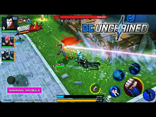 [Android/IOS] DC UNCHAINED - CBT Gameplay