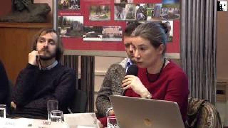 Екатерина Шульман: Старые и новые формы протеста. Выступление в Сахаровском центре
