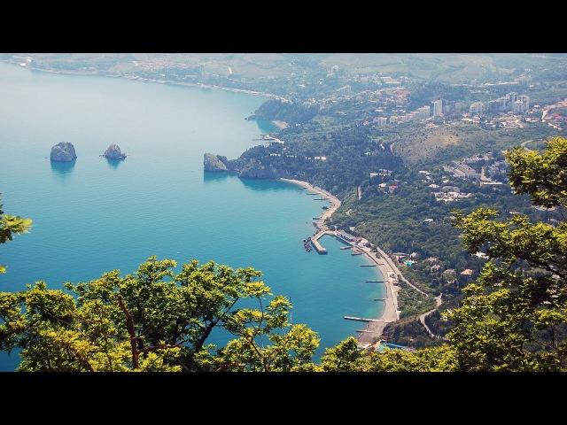 Крым обман зрения черно белое изображение кажется цветным / Crimea optical illusion