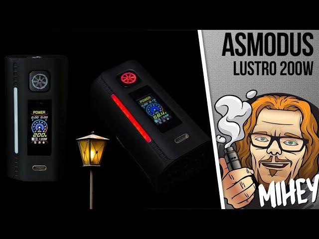 AsMODus Lustro 200W Box Mod. Ночь, улица, фонарь, аптека.🎹🎸🎻🎹