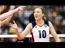 Top 15 BEST Volleyball Spikes by Jordan Larson Burbach | 2017 Women's World Grand Champions Cup