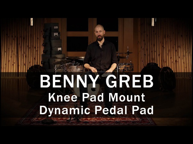 Meinl Knee Pad Mount Dynamic Pedal Pad - Demo by Benny Greb