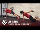 25-минутная силовая тренировка всего тела с гантелями для мужчин и женщин. 25 Min Total Body Workout with Weights - Dumbbell Training Strength Workout at Home for Women Men