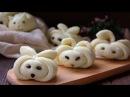 ЛЕПКА БУЛОЧКИ ЗАЙЧИКИ 萌哒,赶紧做起来。Steamed Bunny steamed buns。