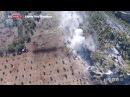 Zeytin Dalı Harekatında hedeflerin TSK tarafından vurulma anları drone ile görüntülendi!