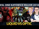 LIQUID vs OPTIC - EPIC ELIMINATION Series - ESL Katowice Major Dota 2