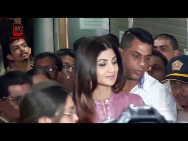 Shilpa Shetty Crazy Fans Full Crowed At Raghuleela Mall Kandiwali Shilpa Launch Of Makeup Academy