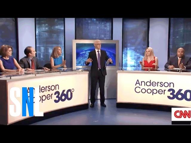 Anderson Cooper 360 - SNL - Westworld
