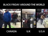 Sheesh The Difference Between Canada, UK &amp U.S. Black Friday Shoppers!