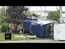Brampton: Car driver crushed to death by semi 8-11-2015