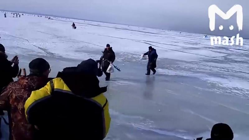 Quand la glace se brise sous les pas dans le Golfe de Finlande