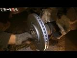 Peugeot 308 - Замена передних тормозных дисков и колодок