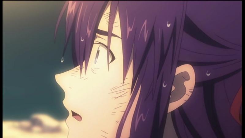Принцесса немертвых Чёрная хроника Shikabane Hime Kuro - 9 серия [AniDub]