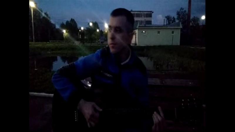 ТВОИ КАРИЕ ГЛАЗА(кавер под гитару)