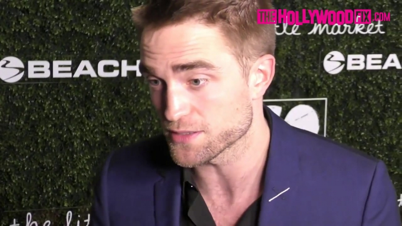 Robert Pattinson Arrives To The 2017 Go Campaign Gala At NeueHouse Hollywood