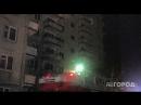 Сильный пожар в Йошкар-Оле огнеборцы выбивали стекла, чтобы потушить огонь