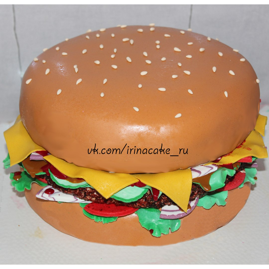 """Торт """"Гамбургер"""" (арт. 0008)"""