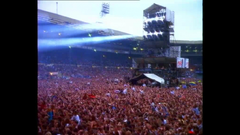 INXS - Live Baby Live - Wembley Stadium on 13th July 1991