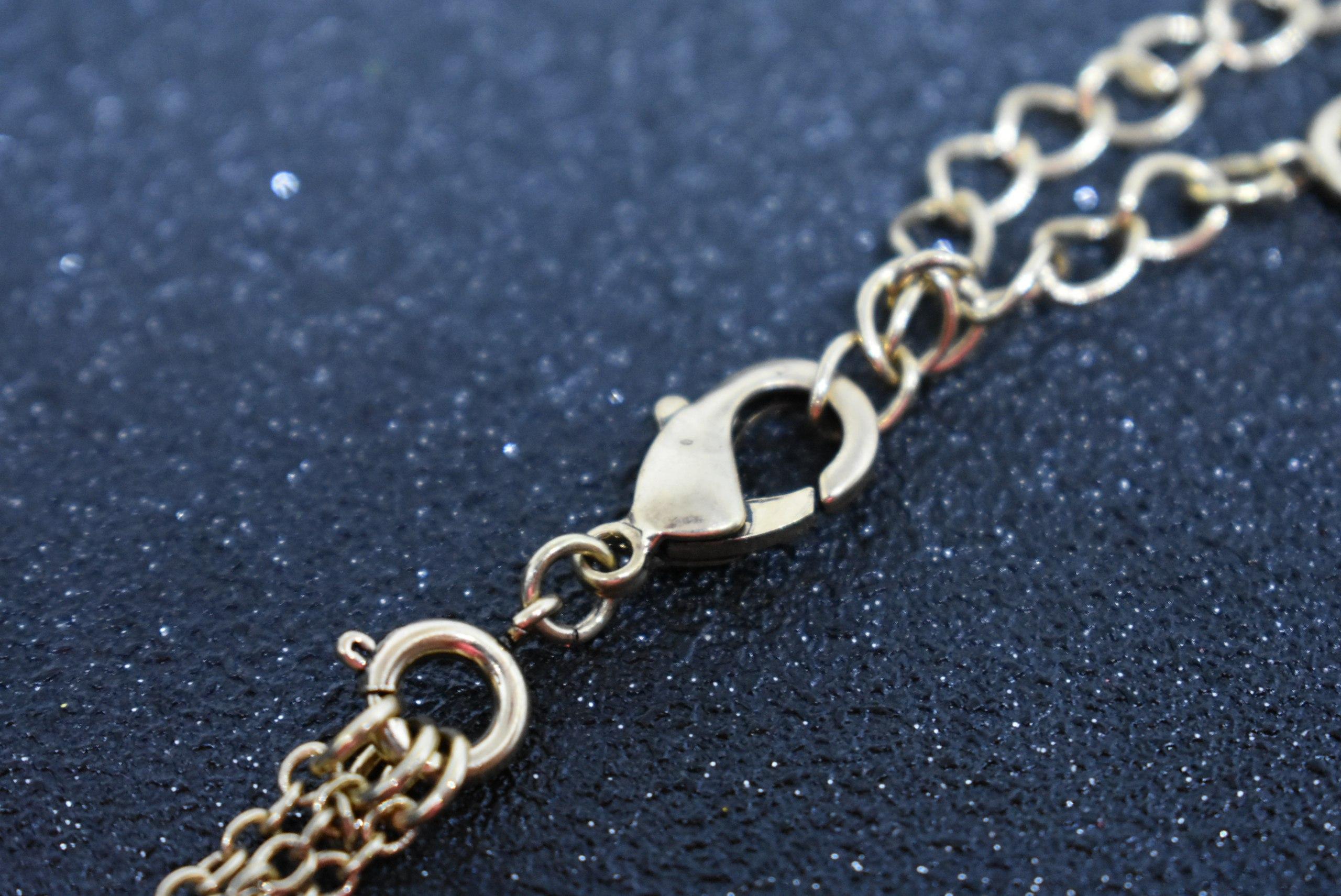 Привет-привет Сегодня я покажу вам красивое каскадное ожерелье от магазина KISS_ME Official Store Украшение оригинальное