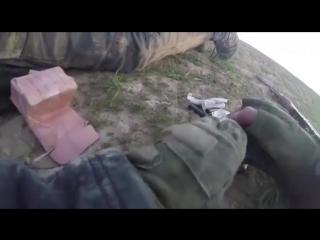 Смертельное ранение боевика при отступлении. Террорист ИГИЛ смертельно ранен при попытке отступления.