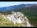 Панорама с горы Черногор 1754 м. Шикарный вид на Фишт, Пшеха-Су и Оштен