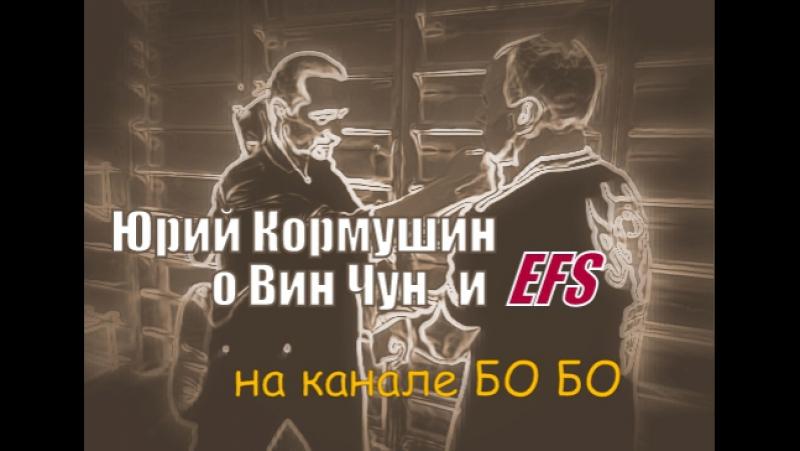 Юрий Кормушин — о традиционном Вин Чун и Extreme Fight System