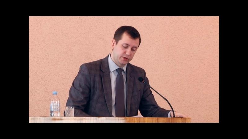 Итоговый отчет врио главы городской админисрации А.И. Морозова о работе Клинцовской городской администрации за 2017 г.