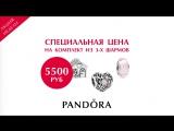Комплект из 3-х шармов по специальной цене от 4 500 руб.