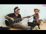 Mark Ballas and Lindsey Stirling - Don't worry (Madcon cover)