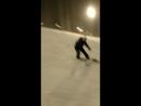 Первые уроки катания на сноуборде (гора Ежёвая)