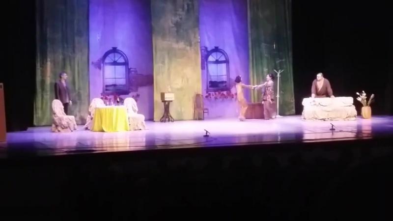 Спектакль 13.12.2017г. с Гузеевой Клара, деньги и любовь, или неугомонная авантюристка.