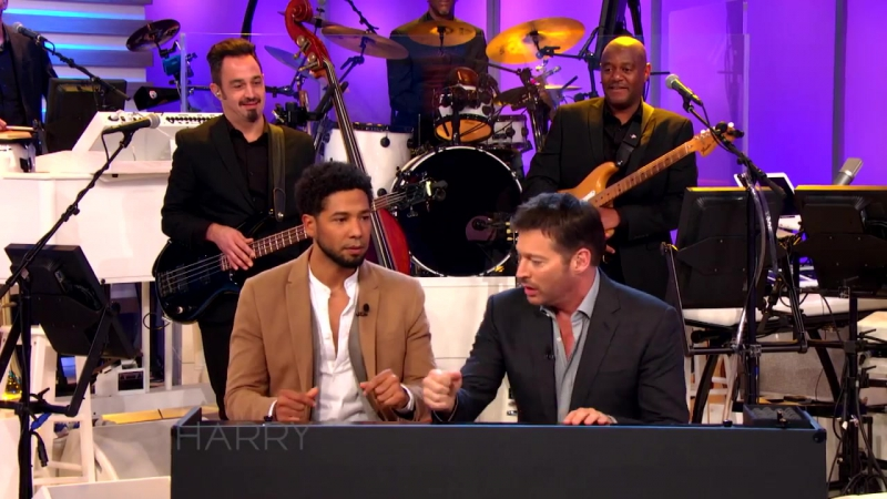 Jussie Smollett and Harrys 60 Second Song