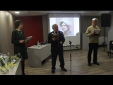 А.В.Воробьев читает стихотворение Ирины Бариновой