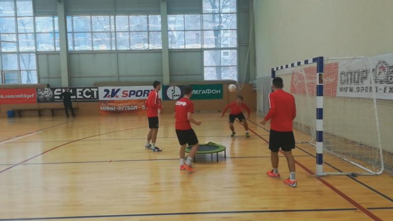 Теннисбол Понкратов-Ниязов vs Денисов-Асадов