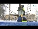 Свидетель истории На Петроградской стороне вернули на место после реставрации чугунный фонарь