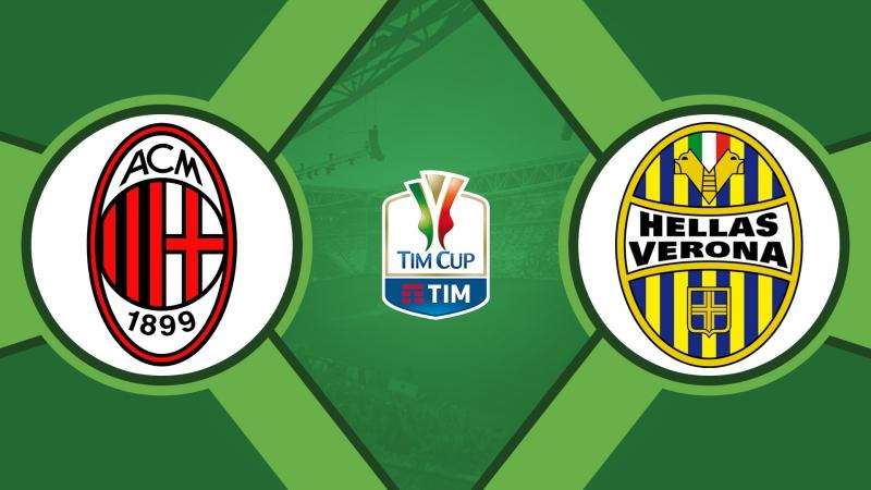Милан 3:0 Верона | Кубок Италии 2017/18 | 1/8 финала | Обзор матча