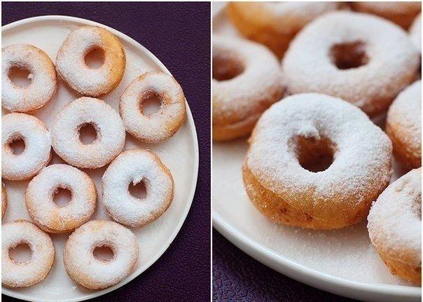 Творожные пончики.    Ингредиенты: