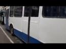Троллейбус Skoda. Крым, Алушта, троллейбусное кольцо. Май 2017