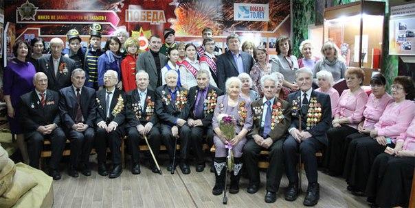 Встреча ветеранов Великой Отечественной войны в рамках празднования дней Воинской славы России