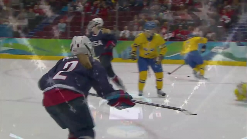 USA 9-1 Sweden - Womens Ice Hockey Semi-Final Vancouver 2010