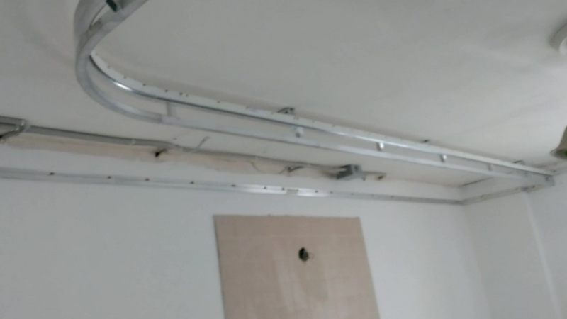 Каркас для двухуровневого потолка натяжнойпотолок матовыйпотолок потолоклюбойсложности двухуровневыйпотолок потолки потол