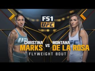 THE ULTIMATE FIGHTER FINAL Christina Marks vs Montana De La Rosa